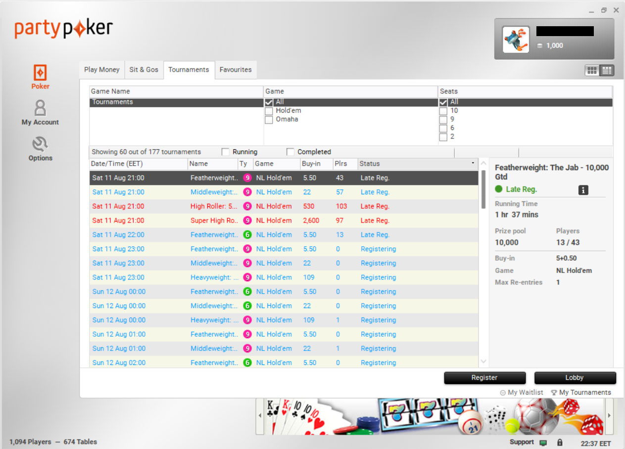 Party poker israel las vegas casino list