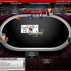peoples poker pot limit omaha table